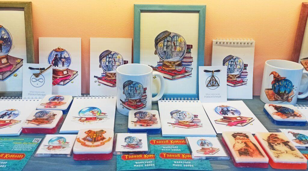 Подарки любителям Гарри Поттера