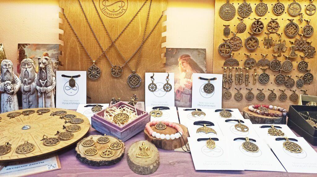 Старославянские обереги, амулеты, украшения, кольца.